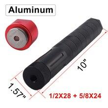 Alluminio 1/2x28 motore filtro carburante auto modulare 10 pollici jig 1.375X24 adattatore trappola solvente 5/8x24