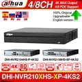 Dahua NVR2104HS-P-4KS2 NVR2108HS-8P-4KS2 4CH 8CH POE NVR 4K Recorder Ondersteuning HDD 4/8CH POE Voor CCTV System Security kit.