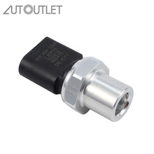 AUTOUTLET for Air Conditioning A/C Pressure Switch Sensor For Audi A3 A4 A5 A6 Seat Skoda Golf 4H0959126A 4H0959126B 4h0959126a air conditioning a c pressure switch sensor for audi a4 a5 a6 q5 vw golf touareg