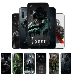 На Алиэкспресс купить чехол для смартфона silicon phone protector coque for xiaomi mi 6 8 se a2 lite mix 2s max 3 a1 note 10 f1 cover alpha rainbow six siege operation