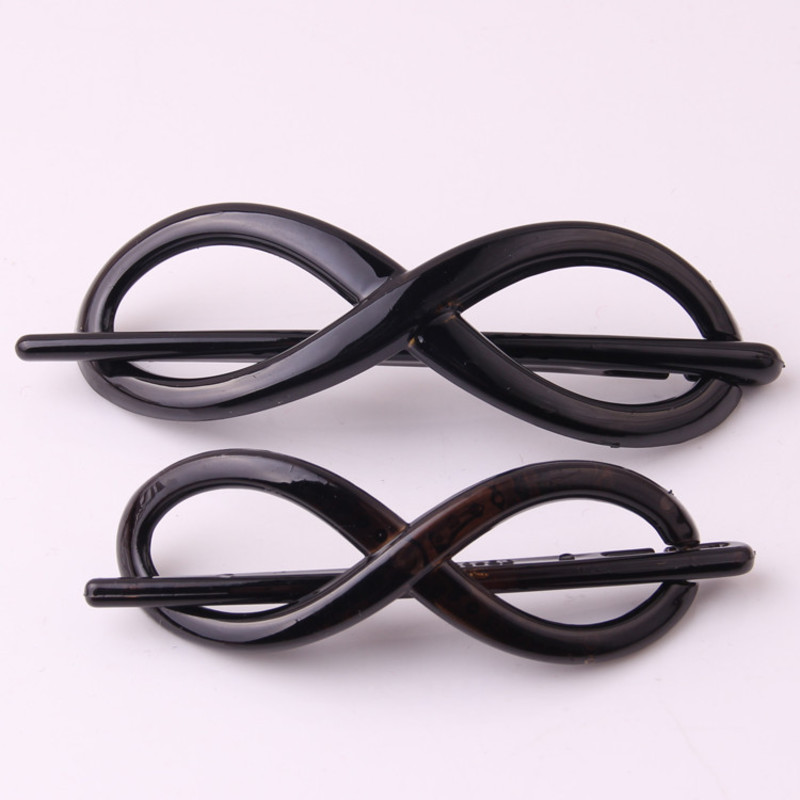 FSGZ Hair Sticks For Lady Fashion Black Twist Type Plastic Hair Pin Korean Brand Champain PC Hair Clips Wedding Hair Pins