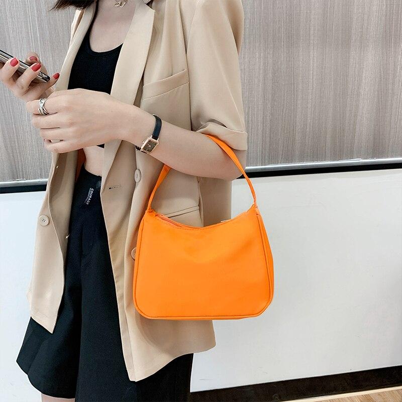 Hot DealsRetro Shoulder Bag For Women Trendy Vintage Nylon Handbag Female Small Subaxillary Bags Casual Retro Mini Shoulder Bag Bella 180