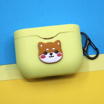 Cute Cartoon Silicone Cover for Sony WF-1000XM3 Case Wireless Bluetooth Earphone Protect Accessories Portable Keyring Decor Bag