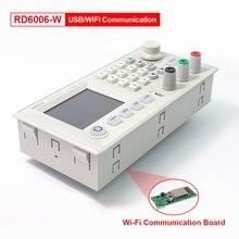 RD RIDEN-módulo de fuente de alimentación de reducción de corriente, voltaje buck, voltímetro 60V 6A, RD6006, RD6006W, WiFi USB, DC - DC