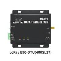 LoRa 433 МГц 37dBm RS232 RS485 RSSI ebyte E90-DTU (400SL37) сетевой модем PLC LoRa Spread Spetrum дальний беспроводной модуль