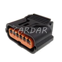 1 conjunto 6 pinos HP286-06021 automotivo pdc conector reverso sensor invertendo radar plug para hyundai kia