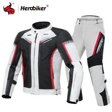 HEROBIKER Motorcycle Jacket Winter Cold proof Waterproof Moto Motocross Jacket Motorbike Riding Clothing Protective Gear # #