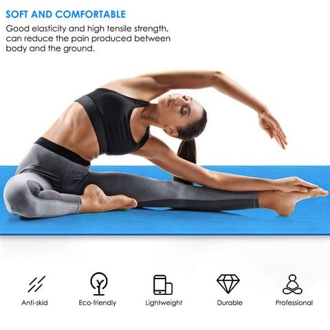 40mm esteira da ioga almofada de exercicio