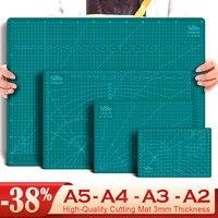 Tabla de corte de PVC A2, A3, A4, A5, autocuración, costura, estudiante, corte de papel artístico, almohadilla cortada, herramienta de artesanía de cuero