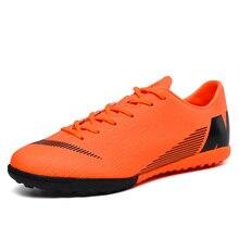 أحذية كرة القدم كسر المسامير تنفس الدانتيل متابعة مقاومة للاهتراء التخميد عدم الانزلاق منخفضة موضة مريحة الرجال أحذية رياضية