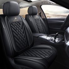 Full Coverage leather Car Seat Cover for Hyundai SONATA i30 i40 SOLARIS CRETA ix35 TUCSON GETZ Santa Fe Accent Car Accessories