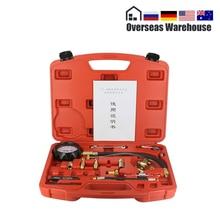 TU 114 Fuel Pressure Gauge Auto Diagnostics Tools For Fuel Injection Pump Tester 0~140psi 0~10bar Quick Coupling