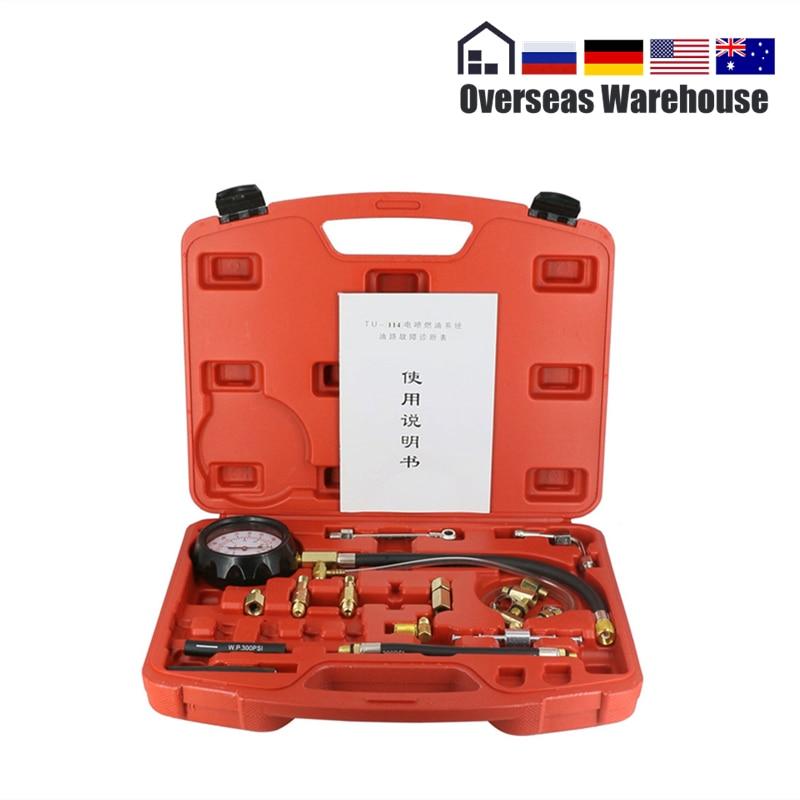 TU 114 датчик давления топлива авто диагностические инструменты для ТНВД тестер 0 ~ 140psi 0 ~ 10bar быстрое соединение Инструмент      АлиЭкспресс
