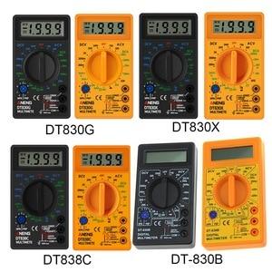 Junejour Digital Multimeter Voltmeter Ammeter Ohmmeter DC10V~1000V 10A AC 750V Current Tester Test LCD Display DT830B(China)