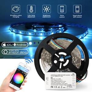 Light-Work Led-Strip Smart-Phone-Control Alexa 24V with Echo Puls Rgbw/rgb Cct Cct