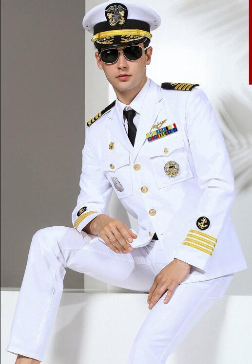 Robe FANTAISIE OFFICIER gentleman CAPITAINE MARIN L