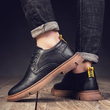2020 New Mens Shoes Genuine Leather Casual Shoes