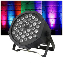 36W 36L-EDs Projector Stage Light Sound Activated RGB Disco DJ Bar Dye Beam Lamp(China)