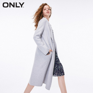 Image 2 - ONLY 2018 Womens Winter Long Double faced Woolen Coat