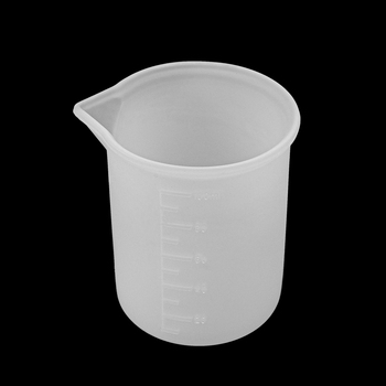 100ML Silicone Measuring Cup Split Resin Mould Handmade Tool DIY Epoxy Jewelry Making Findings