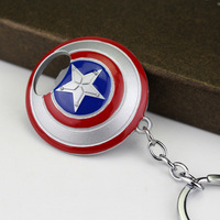 Captain America Shield Bottle Opener Keychain 5
