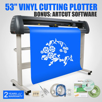 Vinyl Cutting Plotter 53 Inch Graph Plotter Cutter With Artcut Software 1350mm Ship to China Free shipping