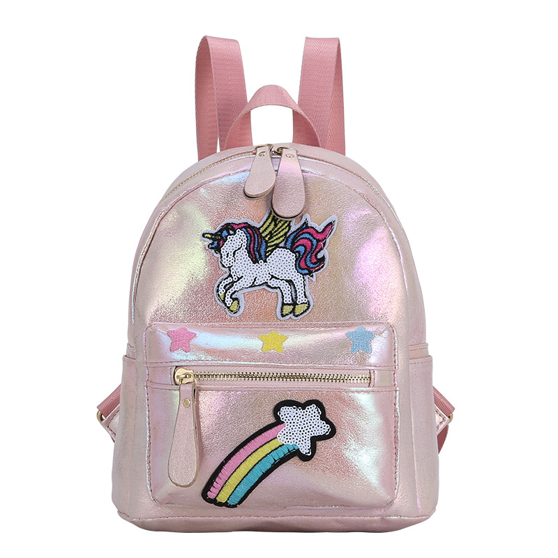 2020 New Kids Backpack Schoolbag Backpacks For Girls Fashion Unicorn Cartoon School Bags Children Small Mochila Escolar Menino