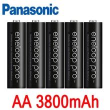 Panasonic eneloop основная батарея pro AA 3800 MAH 1,2 V NI-MH камера nikova precalent AA аккумуляторная батарея
