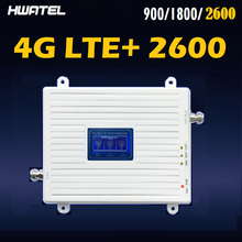 2600MHZ Band 7 Tri-Band Booster Cellular Signal Amplifier Repeater band 7 LTE + Bnad 3 Band 8 900 1800 Russia Spain UK France