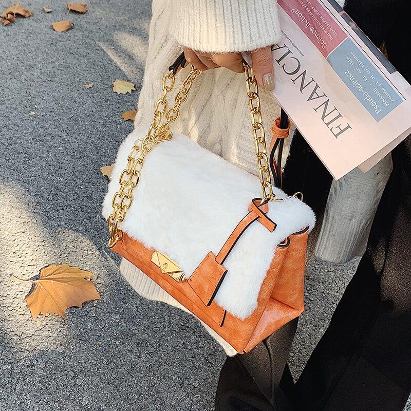 с доставкой Leather Branded Designer Handbag 2021 Winter Trending PU Leather Women Handbag and Purses Shoulder Crossbody Bags