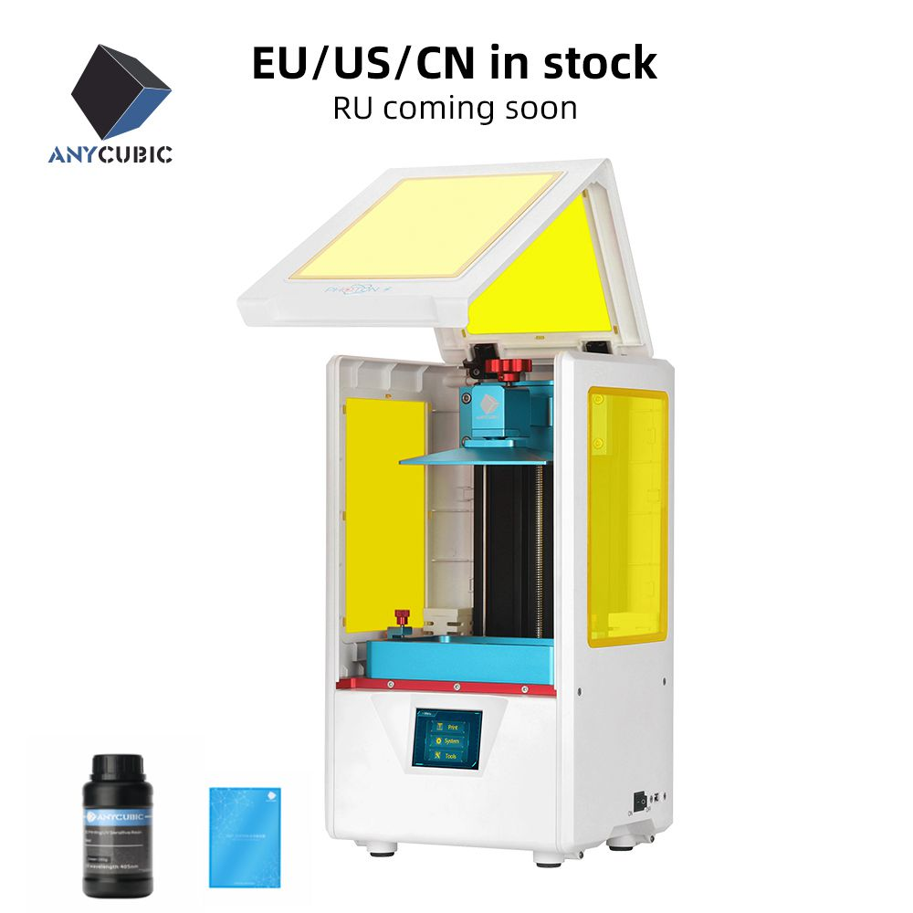 Anycubic Photon S New 3D Printer 3d Jewerly Dental Upgraded Laser SLA LCD UV Resin Slicer