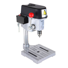 Electric Micro Drilling Machine 220V Industrial Grade Multi Function Cutting Saw Table Desktop Electric Drill Chuck 0.6-6.5mm стоимость
