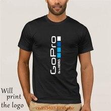 Go Pro GoPro Casco eroe Sportser T-Shirt Formato Magliette S-4XL Maglietta Degli Uomini di Grande Divertente Uomo