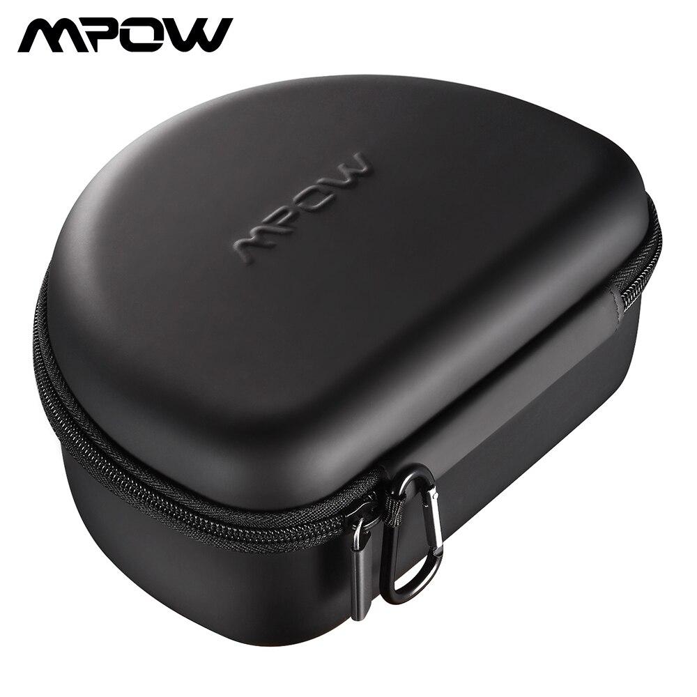 Mpow Eva Universal Headphones Storage Case Earphones Headphone Case Box Headset Storage Pouch Bag For Mpow 059 H5/ H10/ H12/ H16