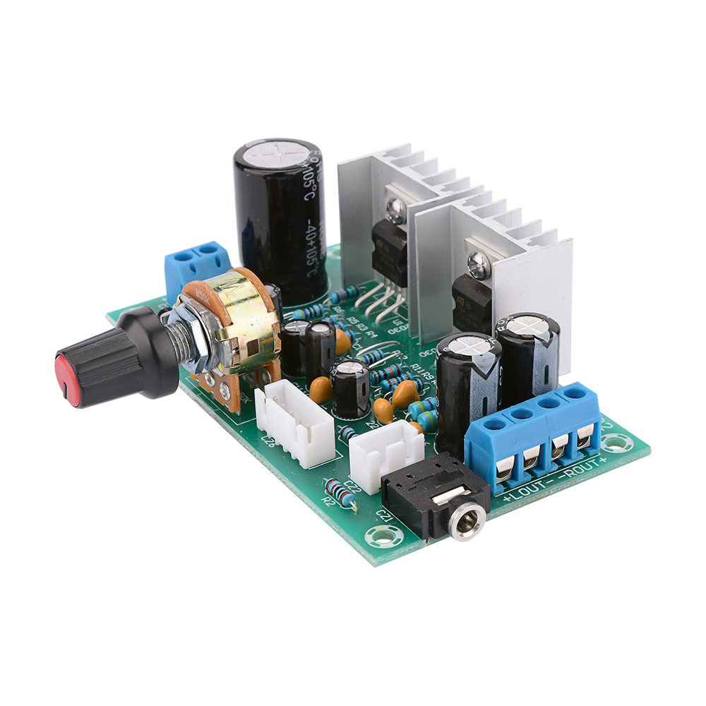AIYIMA Mini <font><b>TDA2030</b></font> Dual Channel Power <font><b>Amplifier</b></font> Board 15W+15W Audio <font><b>Amplifier</b></font> Amplificador For Home Sound Theater DIY image