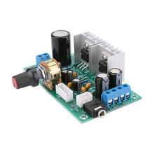 AIYIMA ミニ TDA2030 デュアルチャンネルパワーアンプボード 15 ワット + 15 ワットオーディオアンプ Amplificador 家庭用サウンドシアター DIY