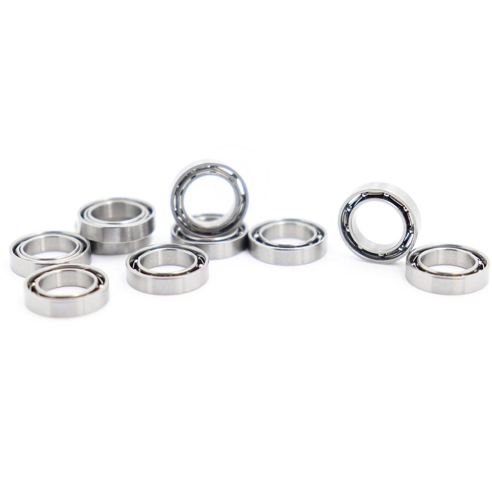 SMR117 Bearing ABEC-1 10PCS 7x11x2.5 Mm Stainless Steel Miniature OPEN Ball Bearings S MR117 677 617/7
