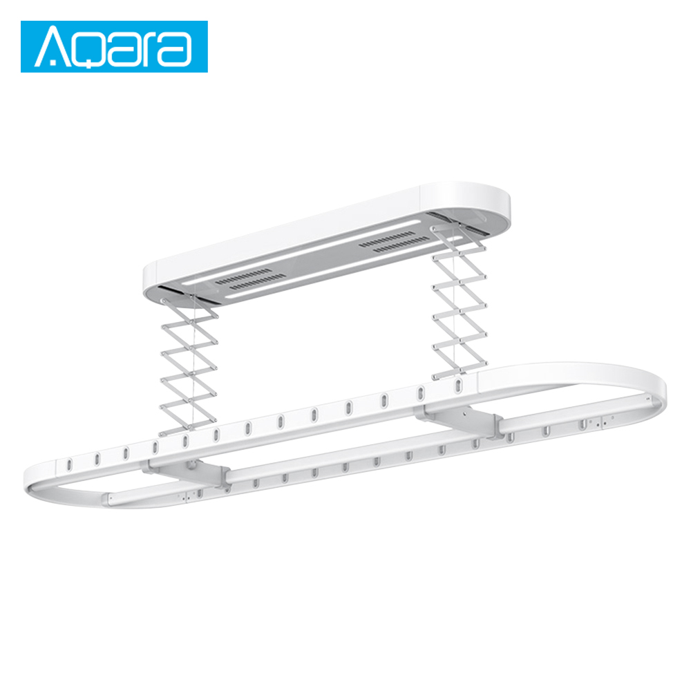 Xiaomi AQara Smart Drying Rack Wireless Remote Control Automatic Lifting Air Indoor 2 Wind Modes With 26 Holes For Smart Home #3