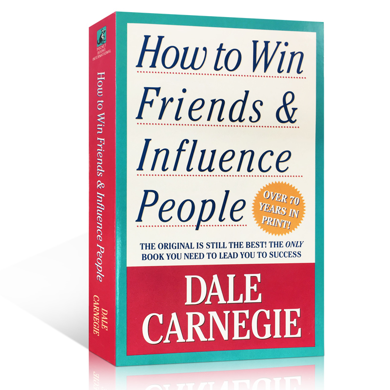 How to Win Friends and Influence People by Dale Carnegie The Original English  Book
