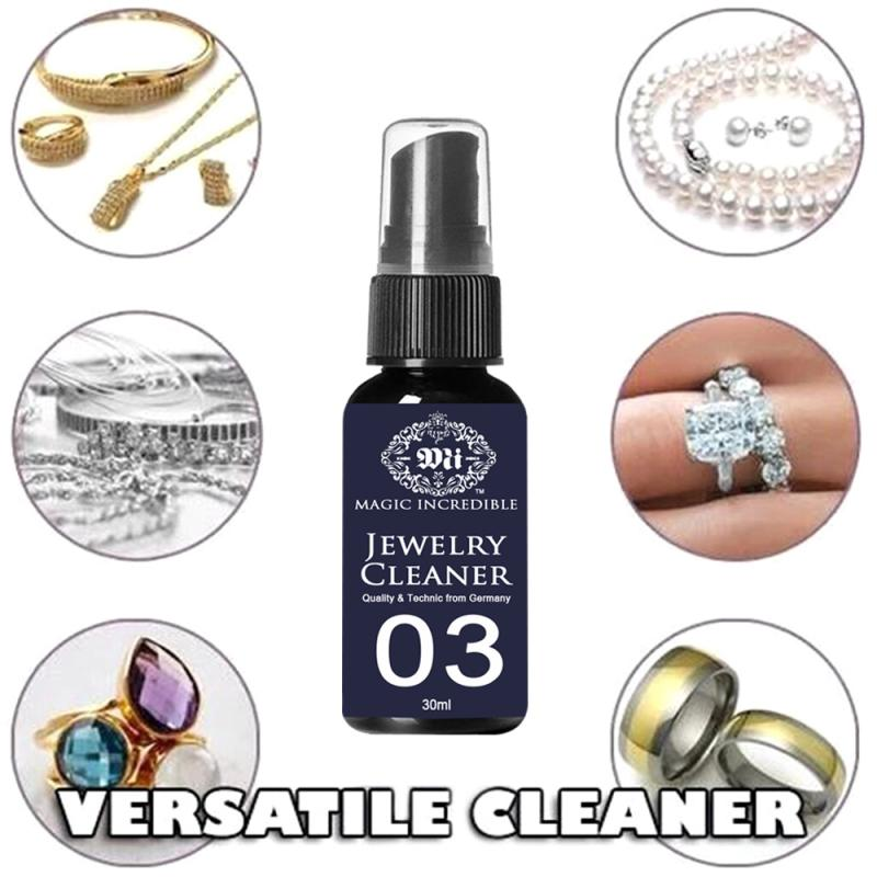 30ml Quick Jewelry Cleaner Anti-Tarnish Jewelry Cleaning Kit Polishing Cloth Liquid Anti-Tarnish Silver Polishing Paste Hot Sale