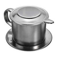 Stainless Steel Coffee Drip Filter Portable Coffee Maker Infusering Mug Cup Office Home Office Traveling Coffee Strainer Tools