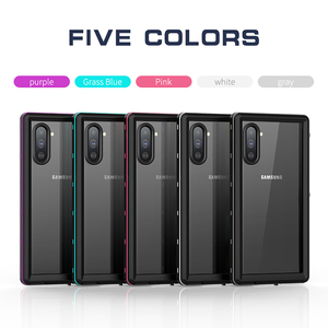 Image 5 - IP68 Water Proof Phone Case For Samsung Galaxy Note 20 10 Plus 9 8 Waterproof Protect Swimming Case For Samsung S9 S10 S20 Ultra