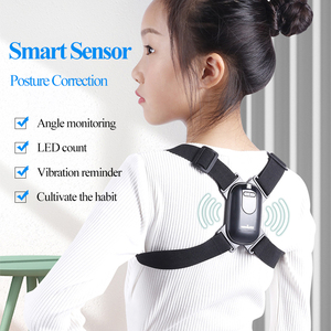 Tenwin Smart Posture Corrector/Reminder Induction Vibration Seated/Shoulder Correct Help Prevent Myopia/Hump Back/Head Down 7600