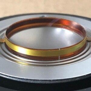 """Image 5 - Diaphragme pour Behringer Eurolive, 4 pièces, fil plat en aluminium pur, 34T120H8 B114 B115 8 ohm, haut parleur 1.35 """", pilote de klaxon 34T30D8"""