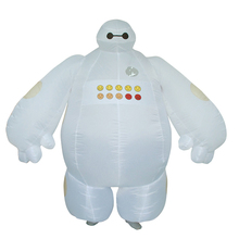 Purim Halloween Inflatable costume Big Hero 6 Baymax Party Cosplay for men women adult baymax Mascot Fancy Dress