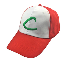 Hats Costumes Baseball-Cap Pokemon-Cap Monster Anime-Pocket Ash-Ketchum Cosplay Curved-Visor