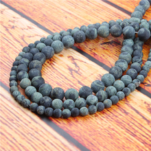 New Bird Stone Natural Stone Bead Round Loose Spaced Beads 15 Inch Strand 4/6/8/10mm For Jewelry Making DIY Bracelet