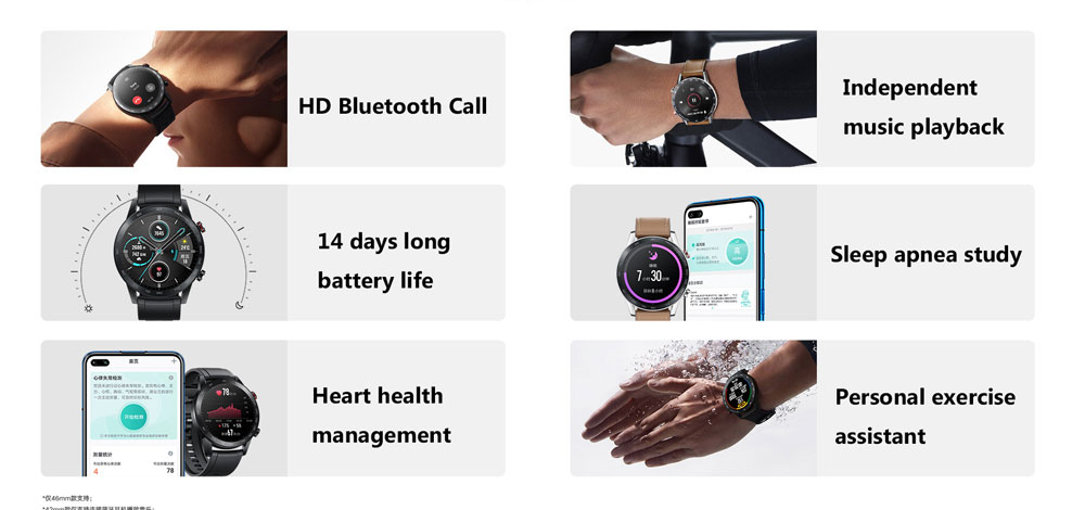 Honor Magic Watch 2 Smart Watch Bluetooth5.1 Smartwatch Not GT 2 Waterproof 14 Days .Smart Sports Watch Heart RatFor Android iOS (1)