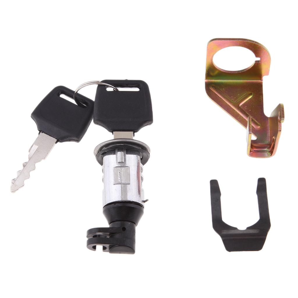 Motorcycle Electric Bike Scooter Trunk Lock with 2 Spare Keys