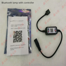 Bluetooth controller RGB 4PIN LED strip light modulator Toning device DC5-24V white black mobile phone APP